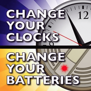 Change you clocks - Change your batteries